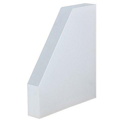 ポリプロピレンスタンドファイルボックス・ハーフ 37035669 無印良品 ボックスファイルの写真