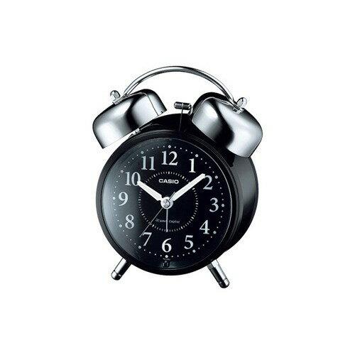 カシオ 電波置時計 ブラック TQ-720J-1BJF(1コ入)の写真