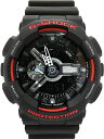 CASIO 腕時計 G-SHOCK GA-110HR-1ADR画像
