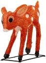 クリスマス 3DイルミネーションLED置物 小鹿