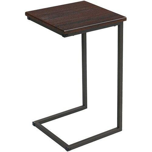サイドテーブル 3030 ブラウン GST3030-BR(1台)の写真