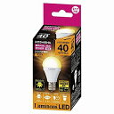 CM-A40GML ドウシシャ LED電球 小形電球形 456lm 電球色相当 DOSHISHA Luminous ルミナス CMA40GML