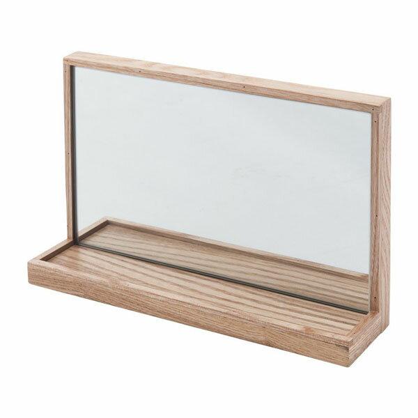 壁掛け飾り棚 ミラー 壁掛けミラー ウォールミラー 鏡の写真
