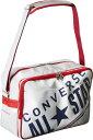 CONVERSE/コンバース C1612053-1129 エナメルショルダーバッグ ホワイト×ネイビー