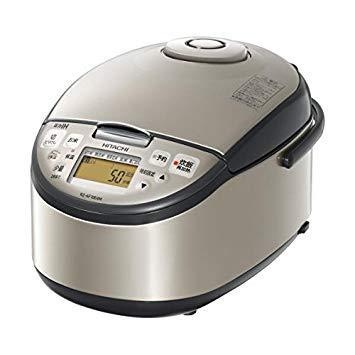 日立 圧力IH炊飯ジャー 5.5合炊き オリジナル シルバー RZ-AF10E4M Sの写真