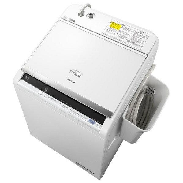 日立 12.0kg洗濯乾燥機 オリジナル ビートウォッシュ ホワイト BWDV120CE6Wの写真