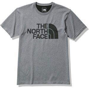 4550413216162(THE NORTH FACE ザ・ノースフェイス ショートスリーブ ジャカード ビッグ ロゴ クルー メンズ L ミックスグレー Z NT12190)画像