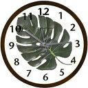 TICKAWAY TICKAWAY(ティッカアウェイ) 掛け時計 アートリーフクロック TW-1125DB