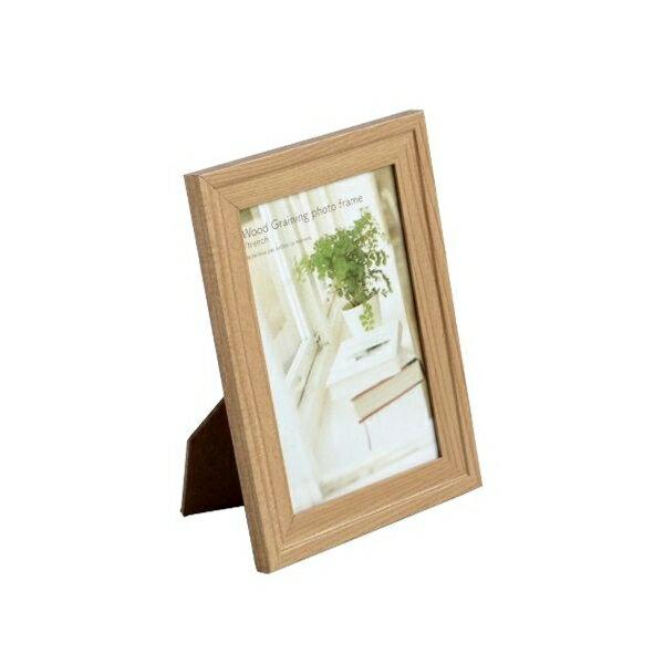 マザーハンズ フォトフレーム木目調トレンチPカードの写真
