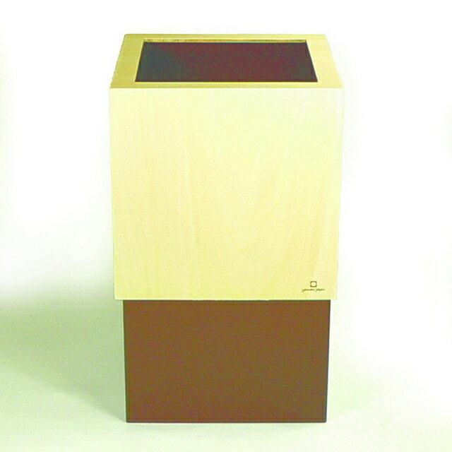ヤマト工芸 W CUBE ブラウン YK06-012 Br