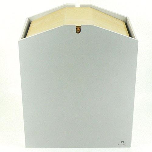 アローズ ダストボックス S ホワイト YK07-009Wh(1コ入)の写真