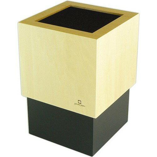 ダブルキューブ ダストボックス ブラック YK06-012Bk(1コ入)