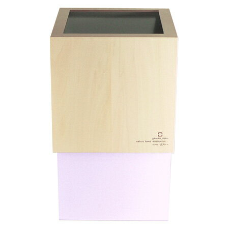 ダブルキューブ ダストボックス パープルホワイト YK06-012Pwh(1コ入)