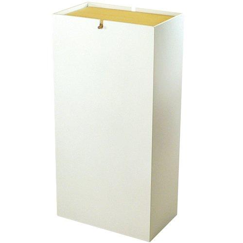 ヤマト工芸 ダストボックス NOPPO YK08-106-Wh ホワイト
