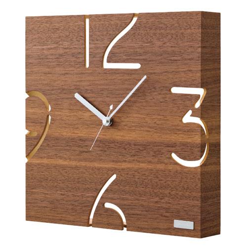 掛時計 ウォールナット YK09-104の写真
