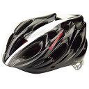 コミネ HKC-400 アーレス ARES サイクリング用ヘルメット ブラック L(57-60cm) 10-400