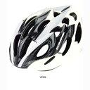 コミネ HKC-400 アーレス ARES サイクリング用ヘルメット ホワイト L(57-60cm) 10-400