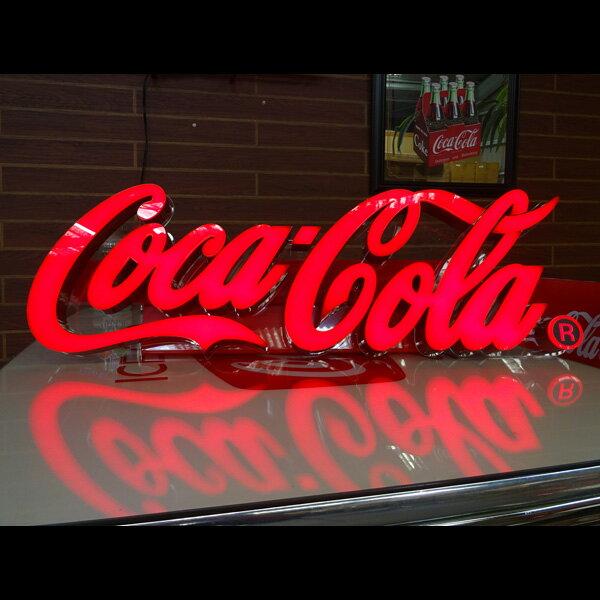 コカ・コーラ ブランド LEDレタリングサイン LED Lettering Sign