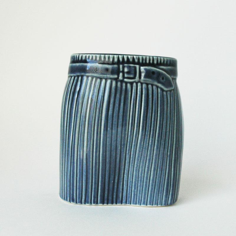フラワーベース リサラーソン LisaLarson ワードローブシリーズ ベース スカートの写真