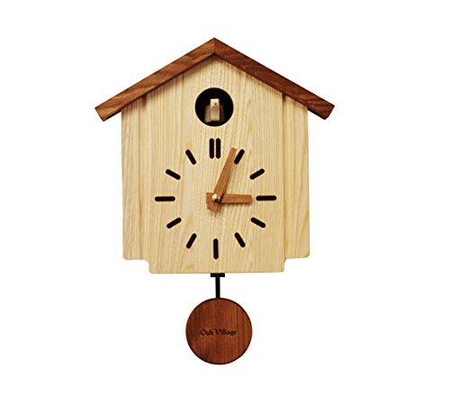 時計 オークヴィレッジ Oak Village カッコークロック 森の巣箱