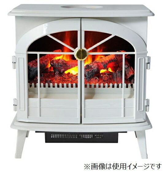 ディンプレックス 電気暖炉 バーゲイト ホワイト BRG12WJの写真
