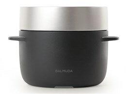 バルミューダデザイン 電気炊飯器 BALMUDA The Gohan K03A-BK