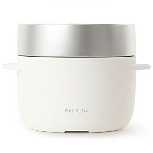 バルミューダデザイン 電気炊飯器 BALMUDA The Gohan K03A-WHの写真