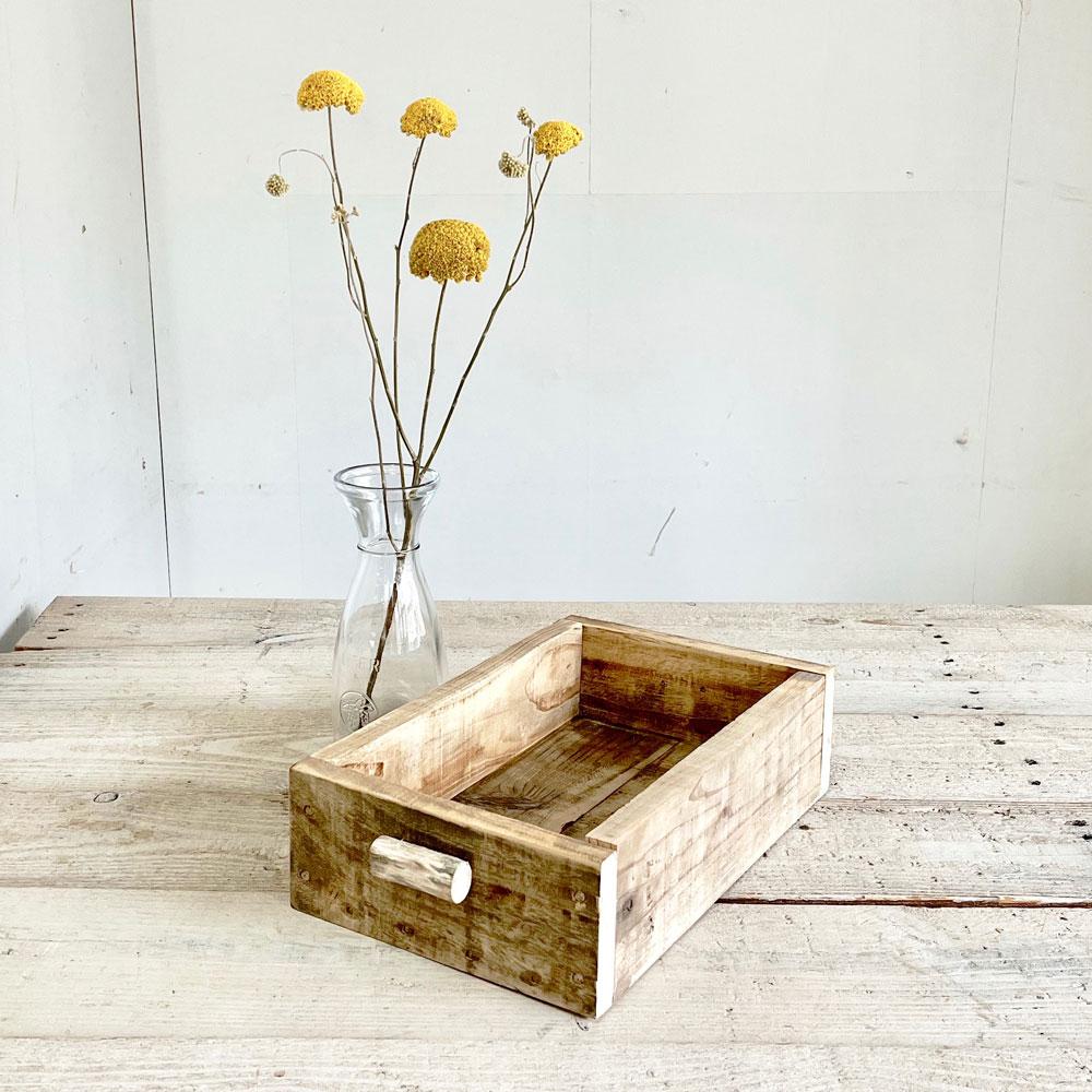 リサイクルウッド ボックスSの写真
