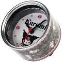 BRISA ブリサ クロミ缶詰時計 ブラック BRISA-022