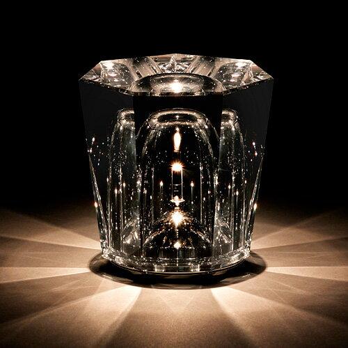 ambientec アンビエンテック xtal クリスタル ソリッド ガラス コードレス led ランプ 充電式 ライト 照明 xtl-01svの写真