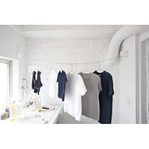 森田アルミ STOK laundry ストックランドリー +rail 室内物干しの写真