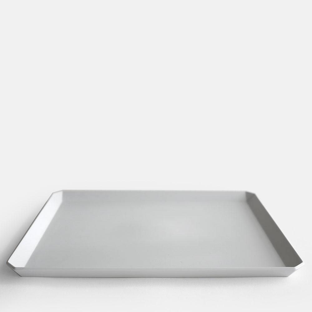 有田焼/磁器 1616/arita japan TY SquarePlate270 Gray TYスクエアプレート270 グレー