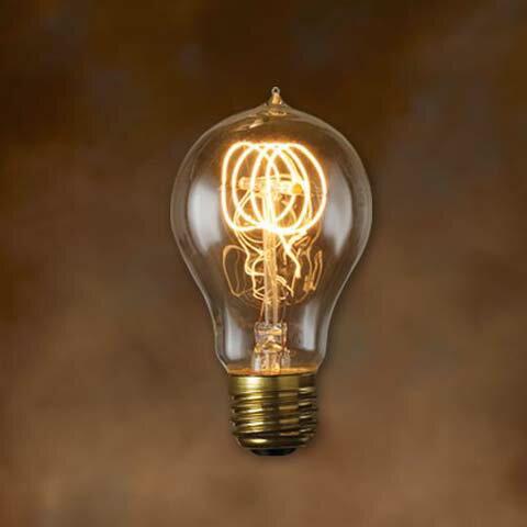 """白熱球 エジソンバルブ Aシェイプ S Edison Bulb """"A-Shape S """" ディティール DETAIL 2939AS"""