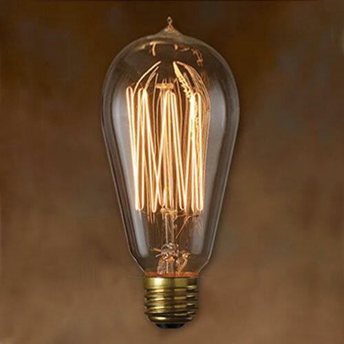 エジソン 電球 e26 40w Edison Bulb Signature L 40w エジソンバルブ シグネチャー Lの写真