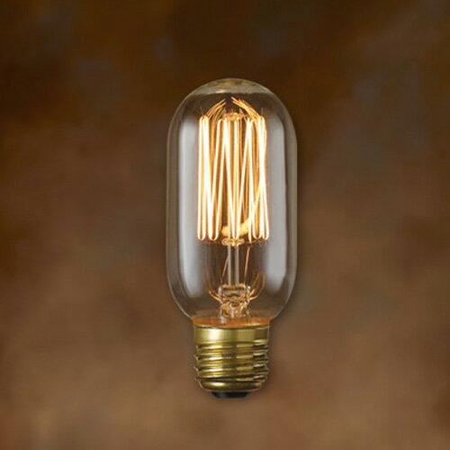 エジソン バルブ レプリカ 電球 TUBULAR チューブラー E-26の写真