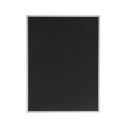 letter board レターボード シルバー m:horizontal 横 w h の写真