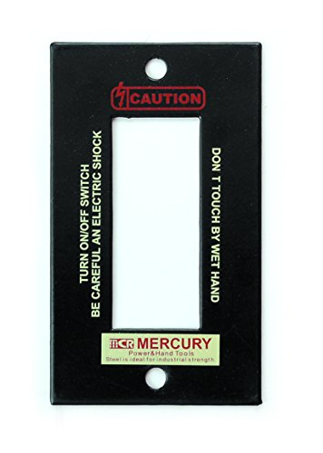 MERCURY マーキュリー スイッチプレートの写真