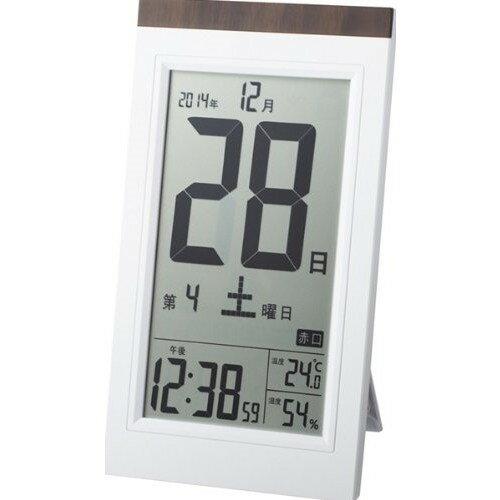 ADESSO(アデッソ) デジタル日めくり電波時計 KW9254(1コ入)の写真