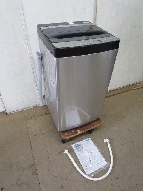 ハイアール JW-XP2C55E 全自動洗濯機 URBAN CAFE SERIES ステンレスブラックの写真