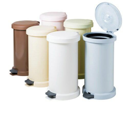 密閉無臭ゴミ箱ムッシュ 世界特許取得の吸着密閉式の二重蓋ごみ箱の写真