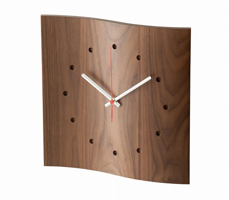 cosine/マイン掛け時計 ウォルナット材の写真