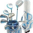 ワールドイーグル FL-01 V2 レディース13点ゴルフクラブセット(ブルー)