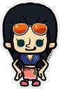 ミニステッカー ワンピース×パンソンワークス《新世界篇/ロビン》画像