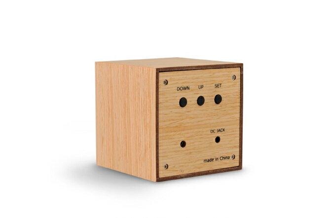 wooden led clock miniの写真