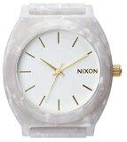 NIXON ニクソン 2011 SS Time Teller Acetate タイムテラー アセテート White Granite 腕時計 NIX-NA3271029