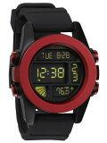 NIXON ユニット Dark Red/Black Ano (腕時計)