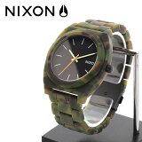 NIXON Matte Black×Camo ウォッチ 腕時計 タイムテラー アセテート アナログ 1125NIXON