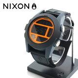 NIXON  BAJAバハ Black/Steel Blue/Neon Orange NA4891323-00   腕時計 1125NIXON
