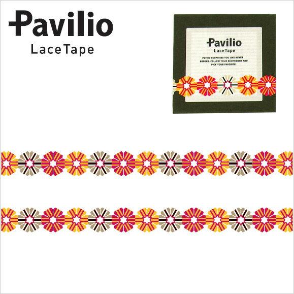 PAVILIO パビリオ レーステープ MINI Snowflower Red メーカー品番 1875