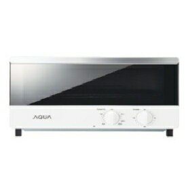AQUA オーブントースター AQT-WA11(W)